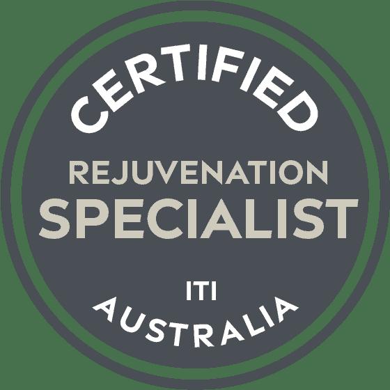 ITI Certified - Rejuvenation Specialist