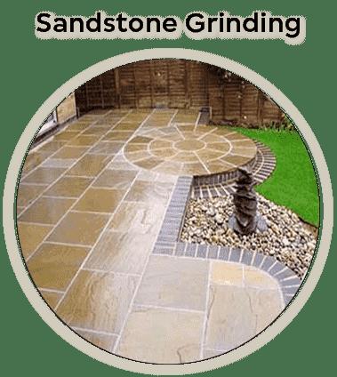 sandstone grinding
