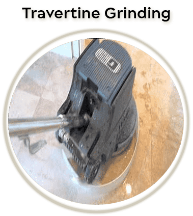 travertine polishing