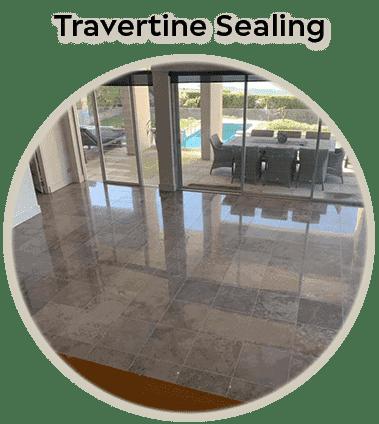 travertine sealing