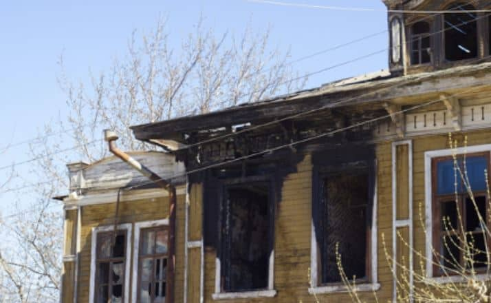 How to restore your fire damaged house